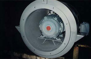 Housed Blower Fan